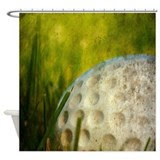 Golf Shower Curtains | Golf Fabric Shower Curtains - CafePress