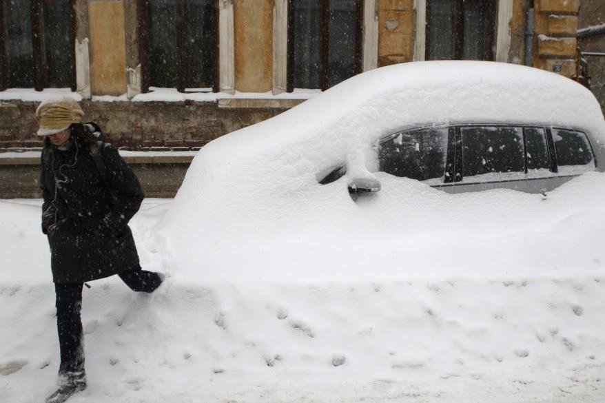 Romania Winter Weather