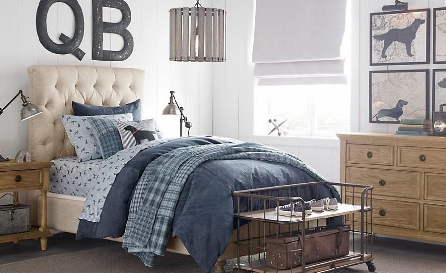21 Rustic Bedroom In