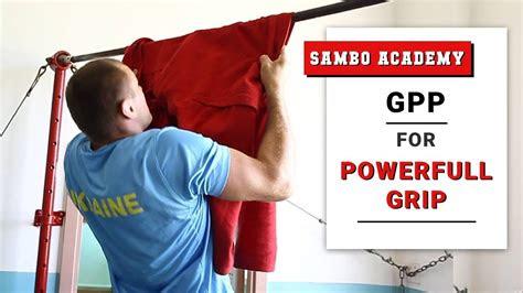 sambo   increase grip strength gpp  maintain