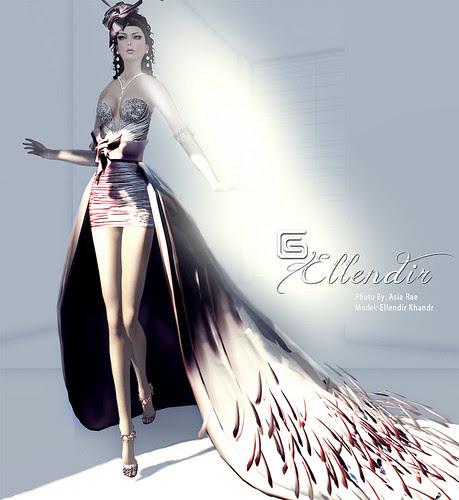 Ellendir Khandr - Formal Gown Miss Costa Rica 2012 - Top 10 Finalist Miss Mundo Virtual 2012 - by Ellendir Khandr MMV 2012 Miss Costa Rica