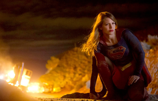 Superman's cousin lands at CBS in a formulaic but fun pilot episode.