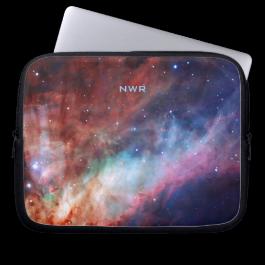 Monogram Omega Nebula - Our Awesome Universe Laptop Computer Sleeve