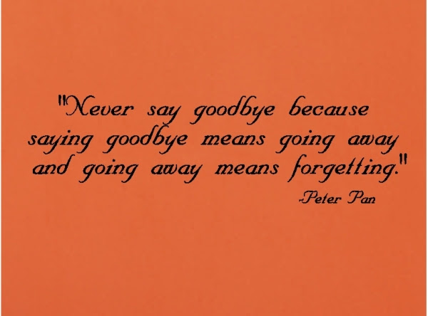 Quotes About Never Say Goodbye 42 Quotes