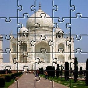 Esempio di applicazione del filtro Puzzle