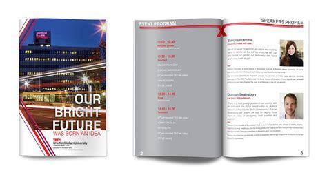 Booklet Design ? TEDx (Sheffield Hallam University, UK