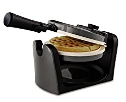 Circle Ceramic Waffle Iron from www.DrJeanLayton.com