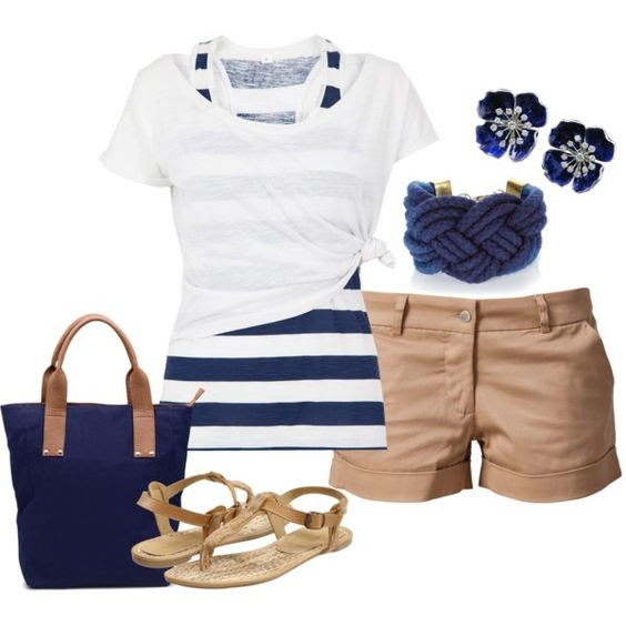 nautical polyvore combos you will love to copy this summer