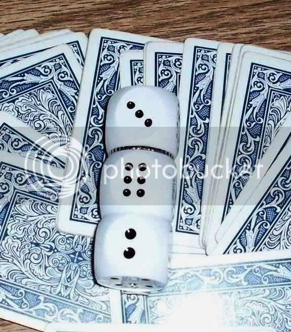 white dice 1