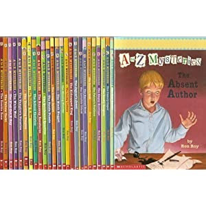 A to Z Mysteries Complete 26-Book Set (The Absent Author, The Bald Bandit, The Canary Caper, The Dea
