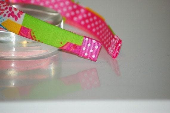 Lilly Pulitzer: FIVE Fabric Headbands Grab Bag- Lilly Pulitzer Preppy  Lilly Pulitzer Prints