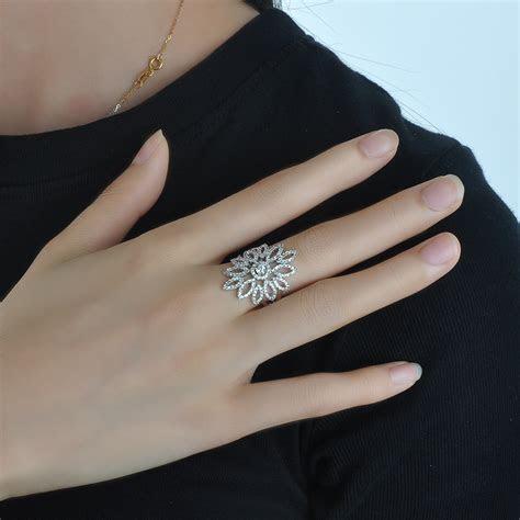 Trend 2018 Latest Gold Silver Finger Ring Design Diamond