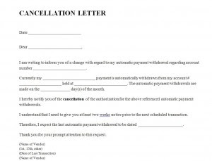 How To Write A Life Insurance Cancellation Letter With Sample