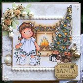 A Sprinkling of Glitter: For My Baby Girl - Totally Tilda DT Card & A Pins Tutorial