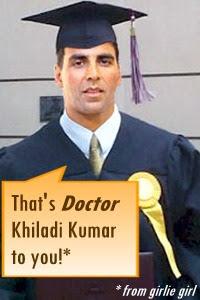 Akshay Kumar PHD Doctor