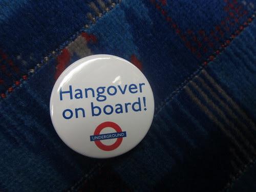 Hangover on Board Badge