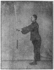 《昆吾劍譜》 李凌霄 (1935) - posture 25