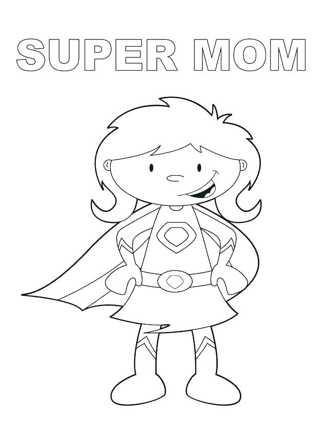 Super Dad Coloring Pages at GetColorings.com | Free ...