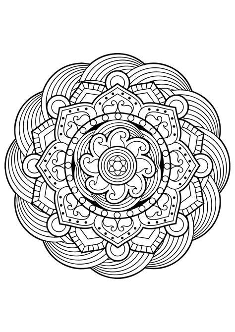 livre de coloriage mandala imprimer  obtenir une