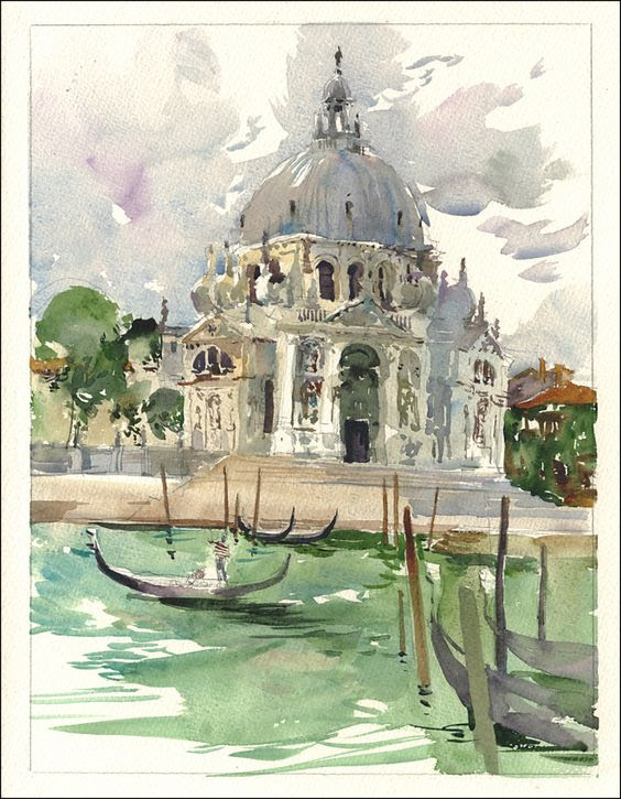 architectural water colors 7