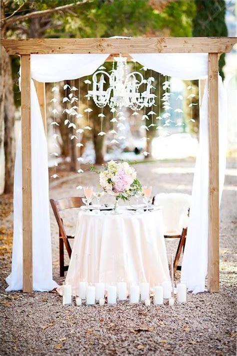 Bride and groom table rustic wedding   Wedding dreams