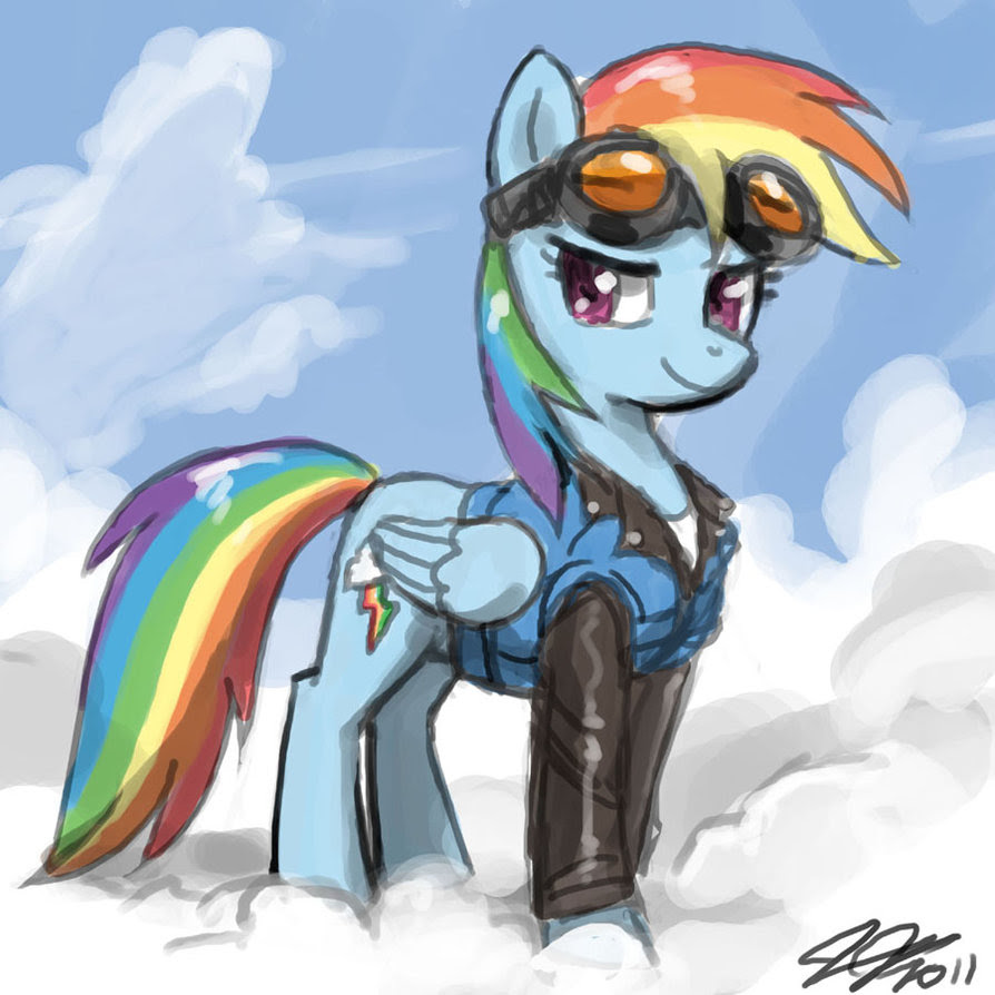 Rainbow Dash Is Awesome My Little Pony Friendship Is Magic Photo