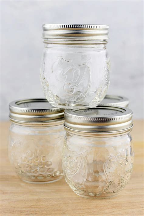 Mason Jars 8oz Regular Mouth Jam Jar Elite Collection