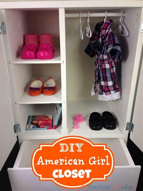 american girl closet american girl furniture american