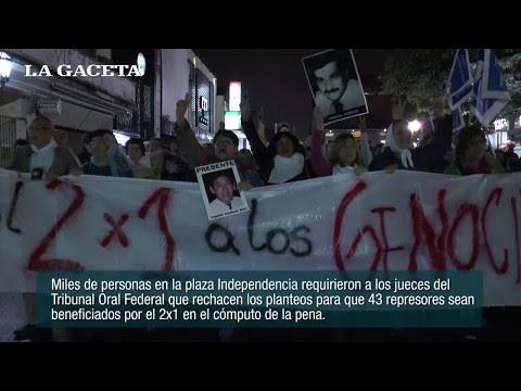En Tucumán también repudian el beneficio del 2x1 para delitos de lesa humanidad