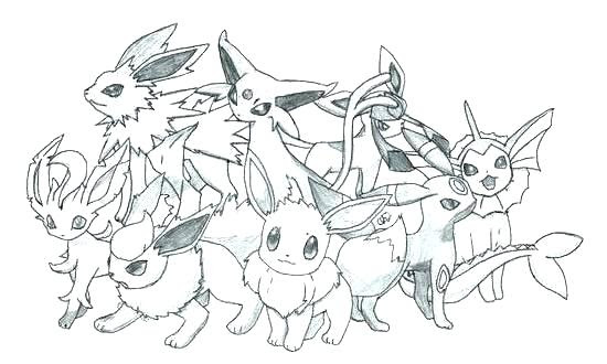 35 Pokemon Evolution Coloring Pages - Free Printable Coloring Pages