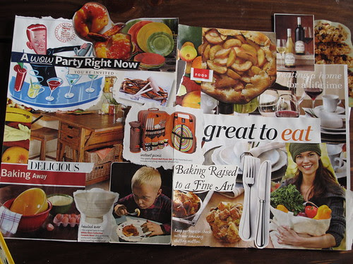 Mood Board for Recipes for the Good Life