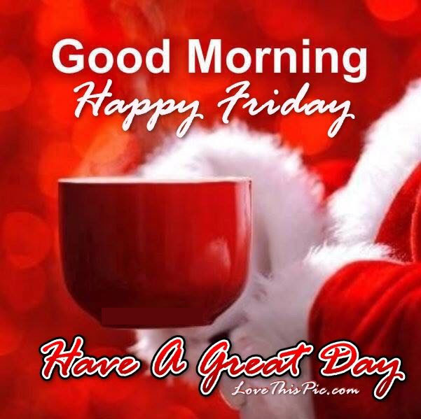 Christmas Good Morning Happy Friday Quote Pictures Photos And