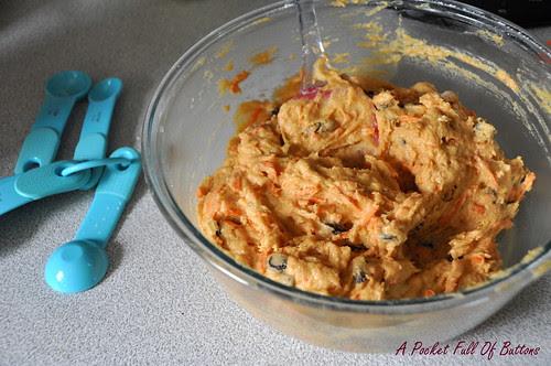 Pumpkin Carrots Mini Muffins