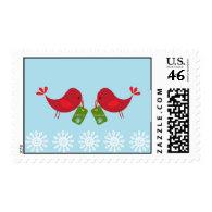 Sweet Christmas Birds - Postage