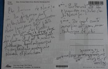 Exemple Texte Carte Postale Vacances D Hiver - Exemple de Texte