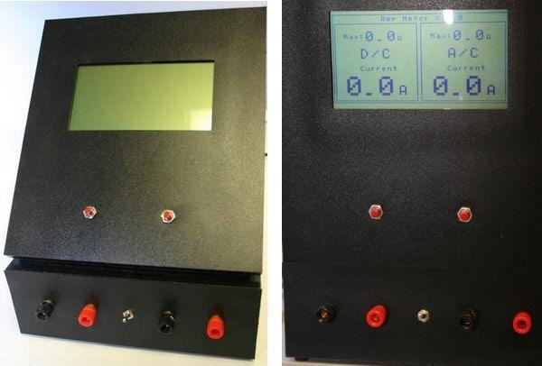 amp mét LCD