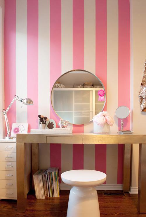 bedroom-dressing-table-parsons-martini-pink-stripes-design-sponge