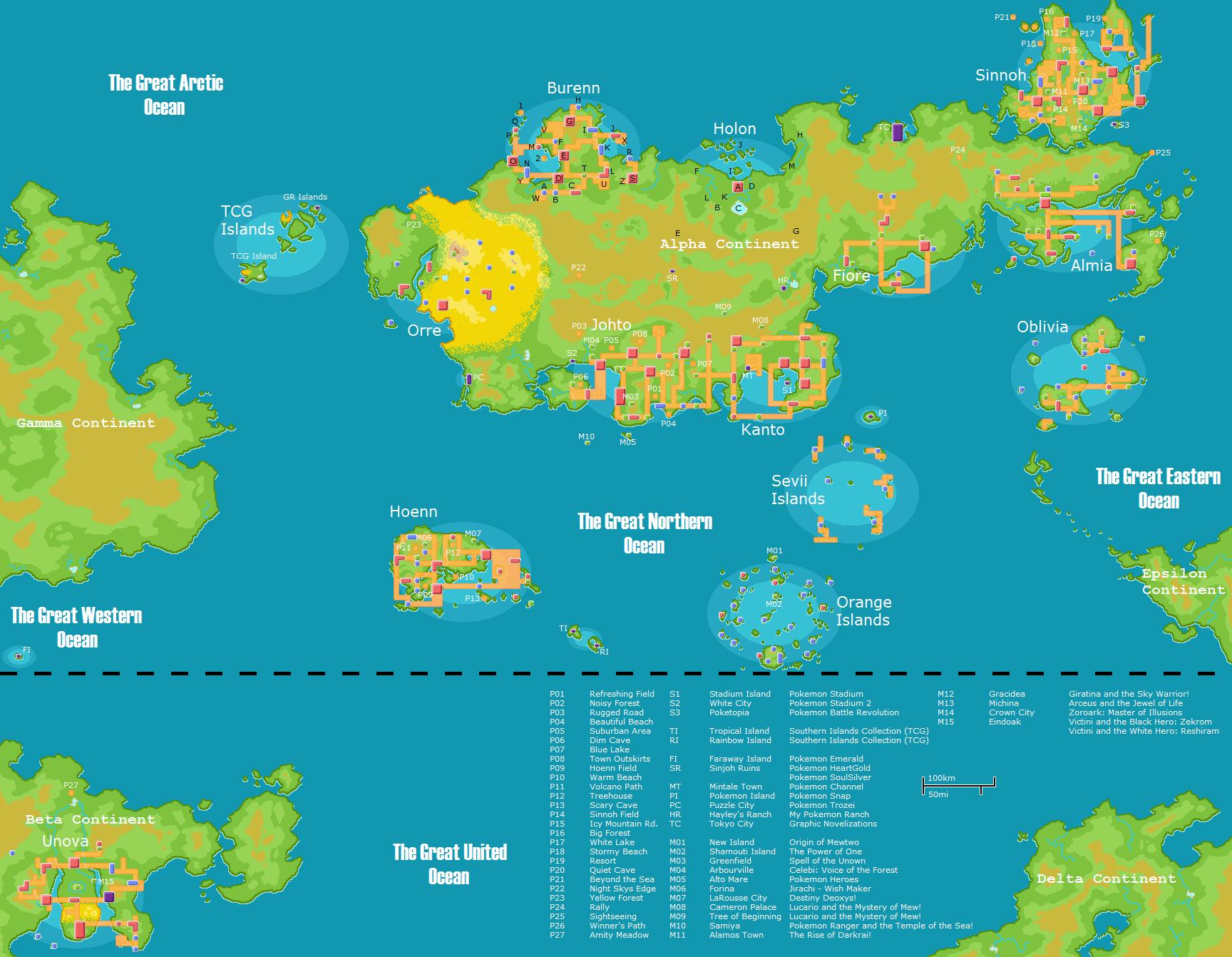 Pokemon maps favourites by twila101 on deviantart gumiabroncs Images