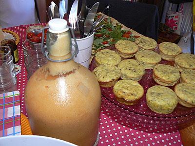 flans de courgette et soupe de melon.jpg