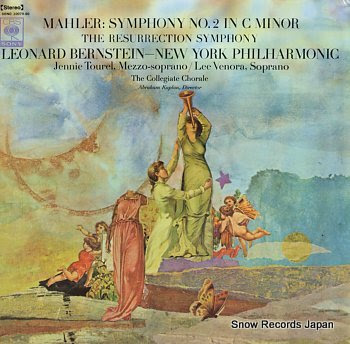 BERNSTEIN, LEONARD mahler; symphony no.2 in c minor resurrection
