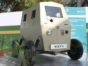 Tata Bullet Proof Car