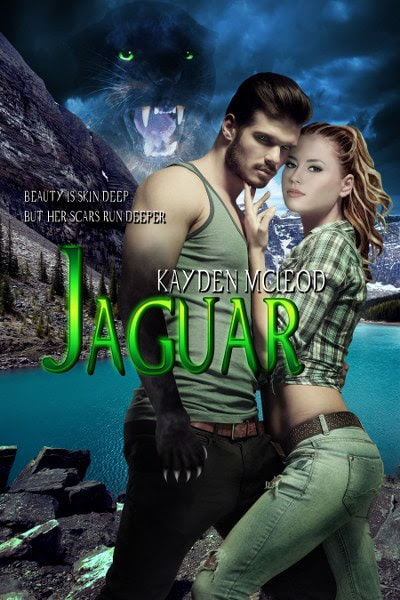 Book Cover for paranormal romance Jaguar by Kayden McLeod.