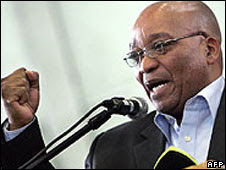 ANC leader Jacob Zuma