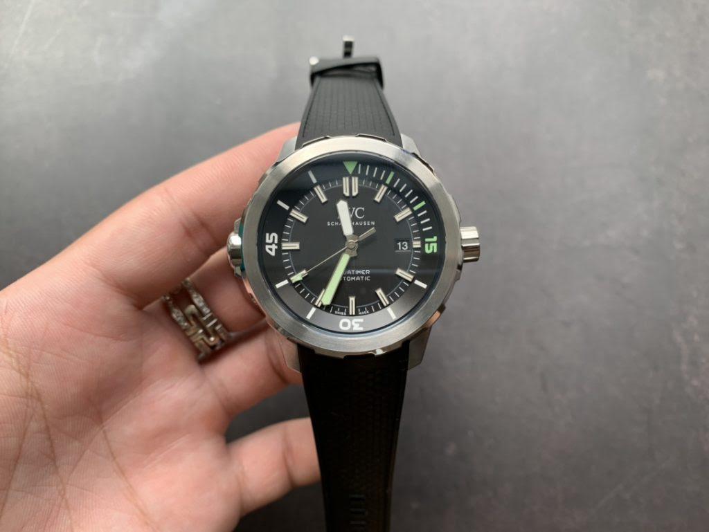 Replica IWC Aquatimer 2000 Black