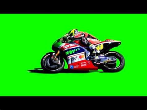 motorcycle  green screen background video youtube