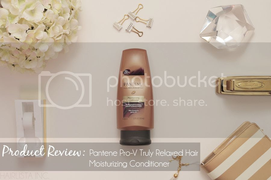 Pantene Pro-V Truly Relaxed Hair Moisturizing Conditioner Review | on HairliciousInc.com