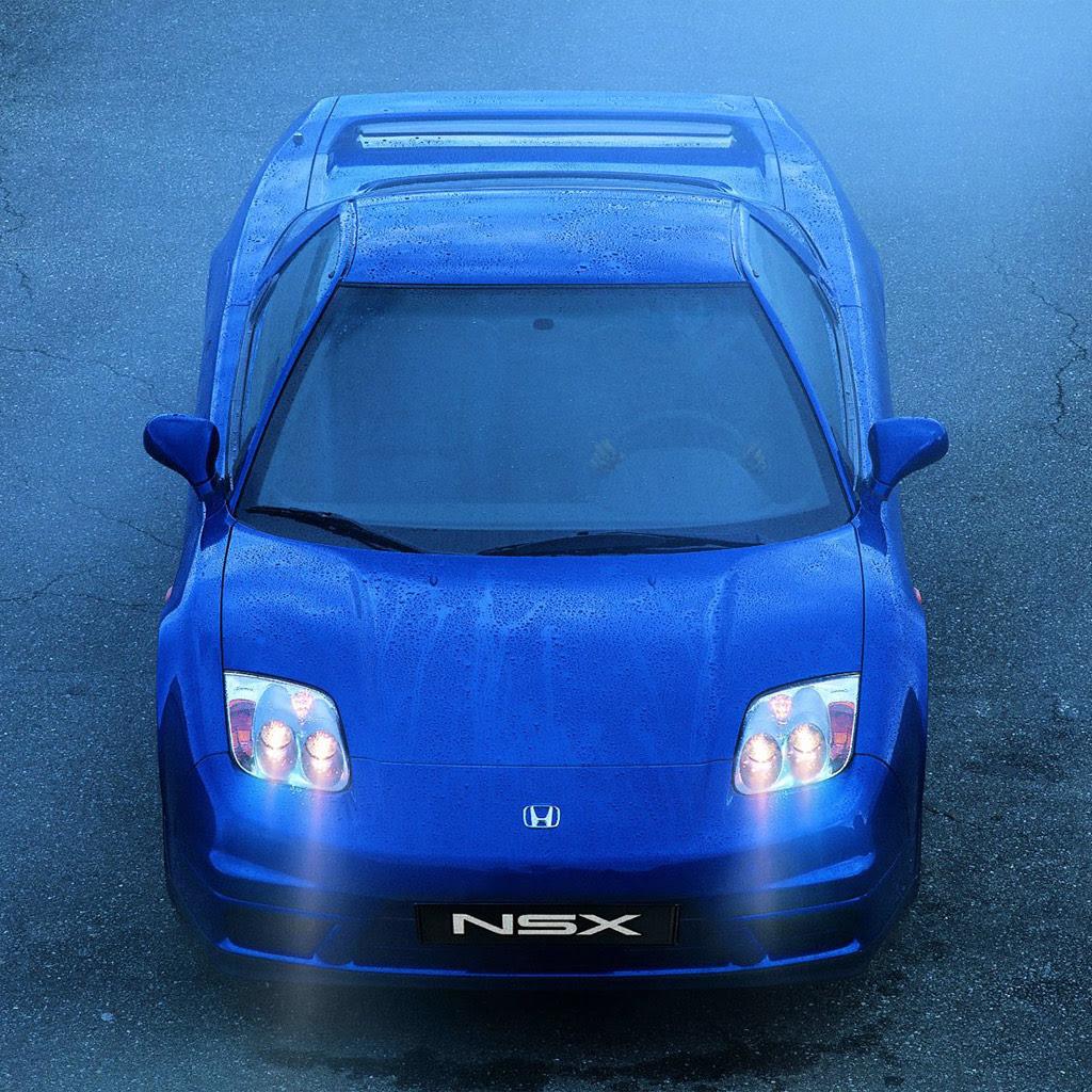 Cars - Honda NSX Type R - iPad iPhone HD Wallpaper Free