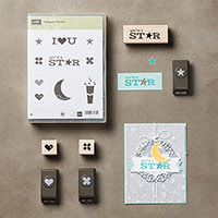 Pictogram Punches Wood-Mount Bundle by Stampin' Up!