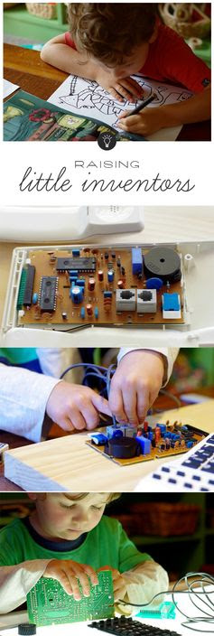 Great tips on encouraging the little inventors in our lives...