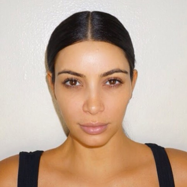 Kim Kardashian Without Makeup: See How Different She Looks Before and After Her Beauty Routine